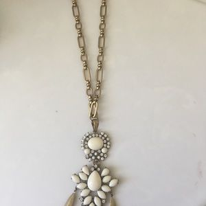 Stella and Dot long statement necklace
